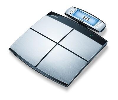 Beurer BF105 - Personenweegschaal lichaamsanalyse - Bluetooth - 180kg - RVS