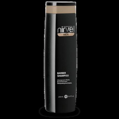 Шампунь для бороды и усов Nirvel Professional Barber Shampoo, прозрачный
