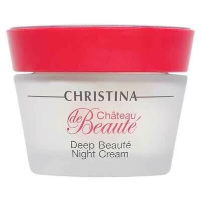 Chateau de Beaute Deep Beaute Night Cream Интенсивный обновляющий ночной крем