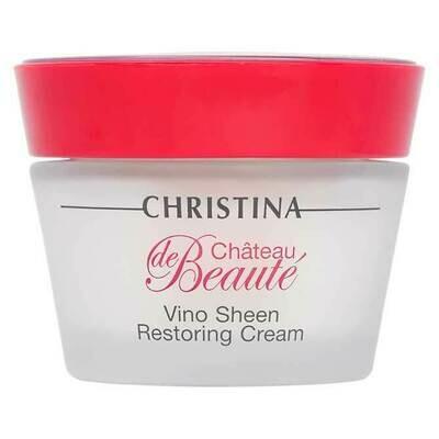 Chateau de Beaute Vino Sheen Restoring Cream Восстанавливающий крем Великолепие