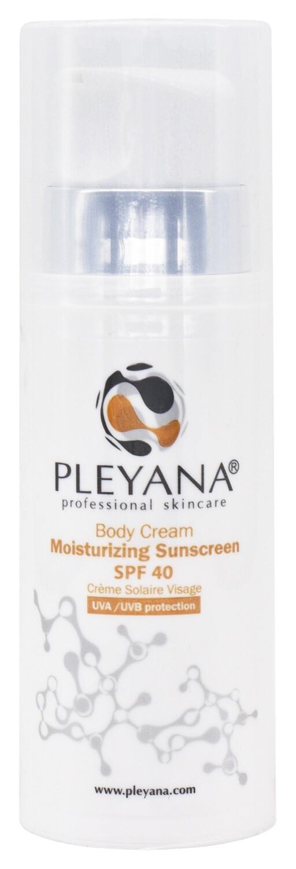 Солнцезащитный увлажняющий крем для тела SPF 40
