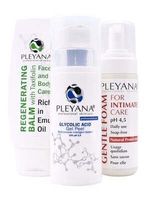 Home Skin Care Set #7 INTIM-SHINE PLEYANA