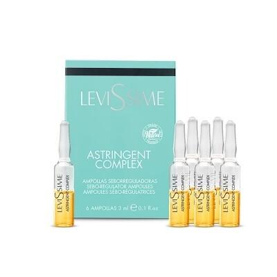 Комплекс для проблемной кожи LeviSsime Astringent Complex, рН 7,0-7,5, 6 шт по 3 мл
