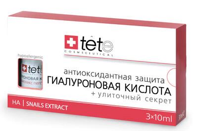 Гиалуроновая кислота, улиточный секрет Hyaluronic Acid + Snail Extract