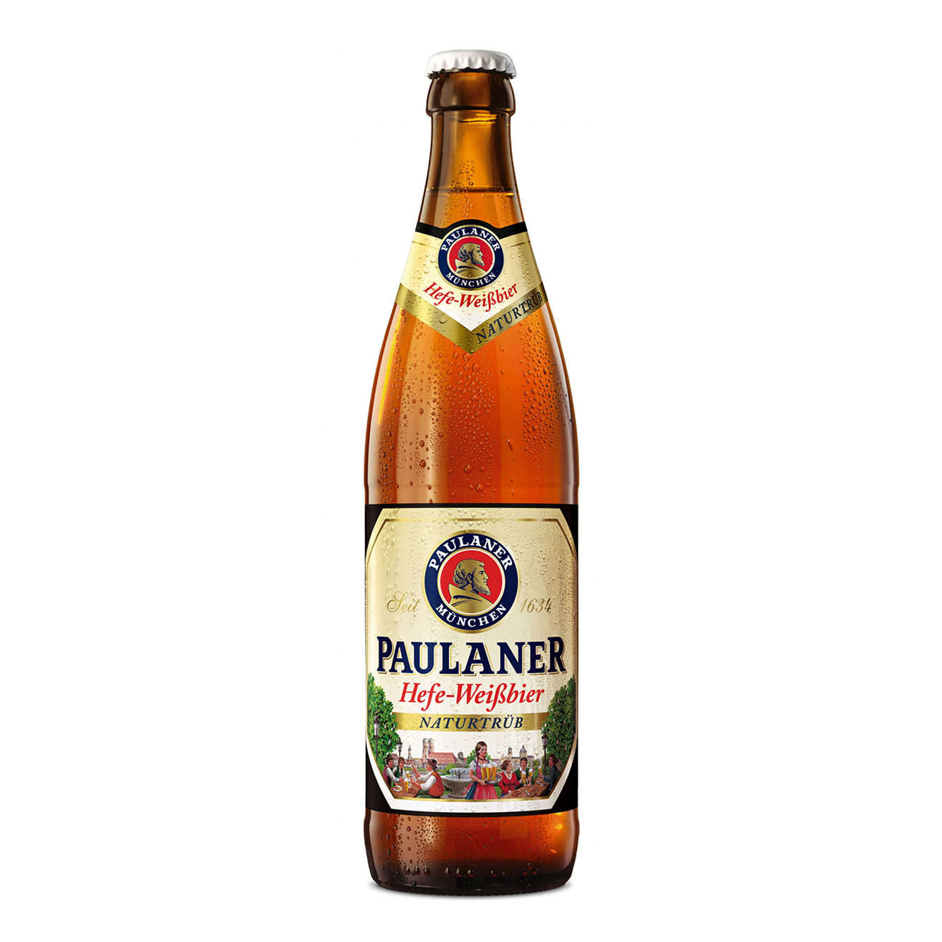 Paulaner Hefe-Weißbier Bottle