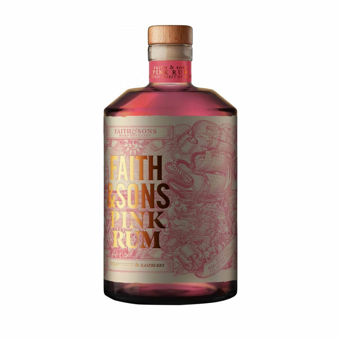 Faith & Sons Pink Rum