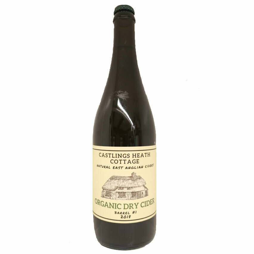 Castlings Heath Cottage Organic Dry Cider