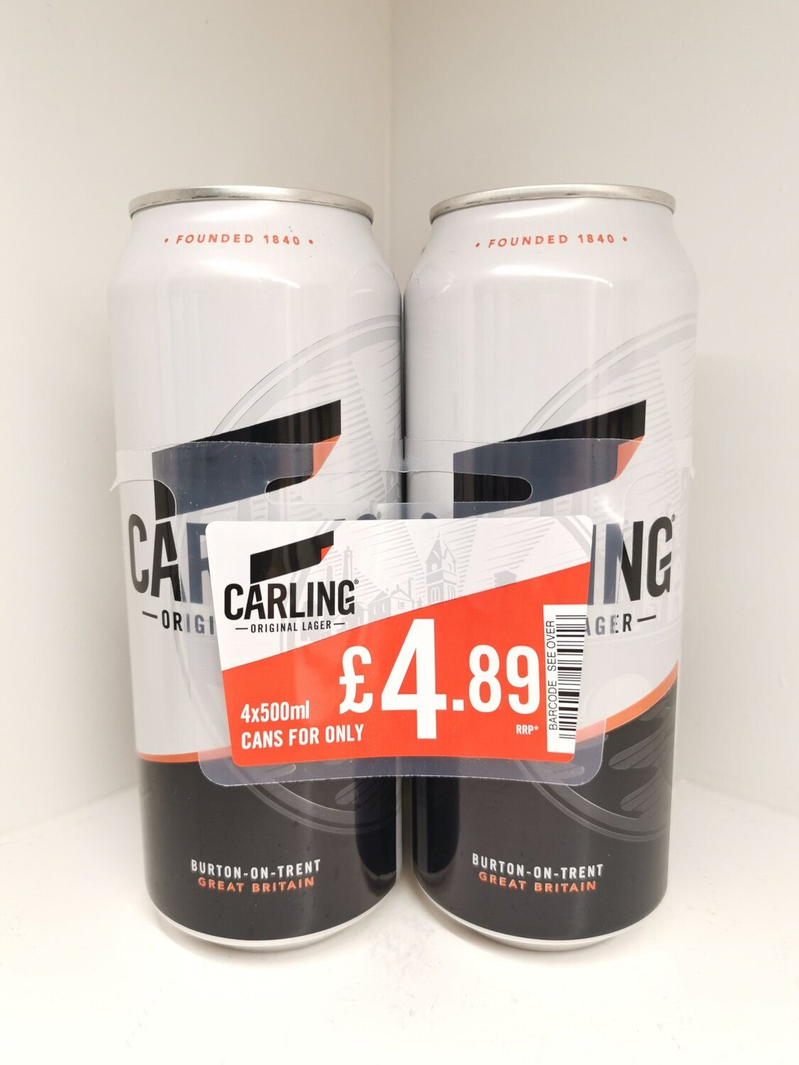 Carling Lager 4 Pack