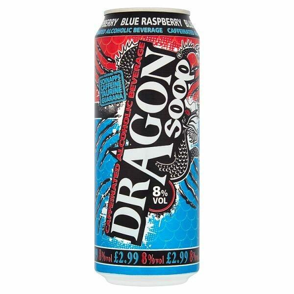 Dragon Soop Blue Raspberry