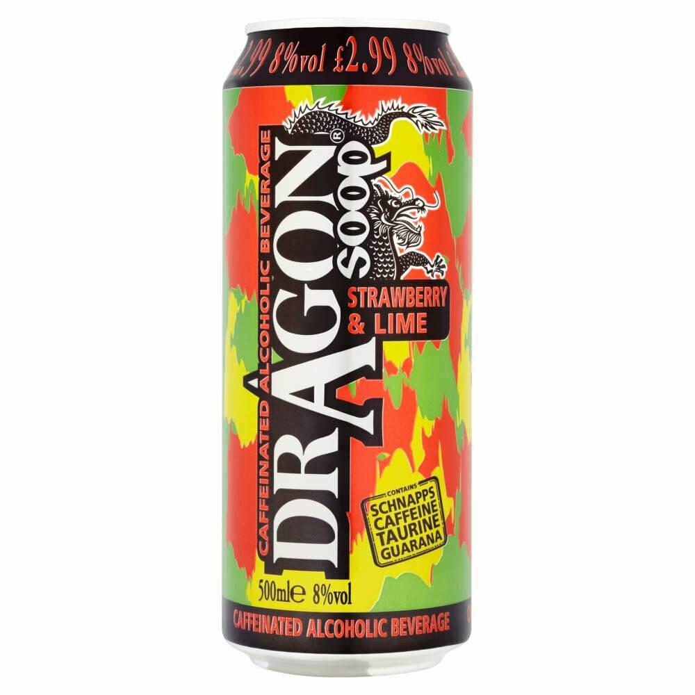 Dragon Soop Strawberry Lime