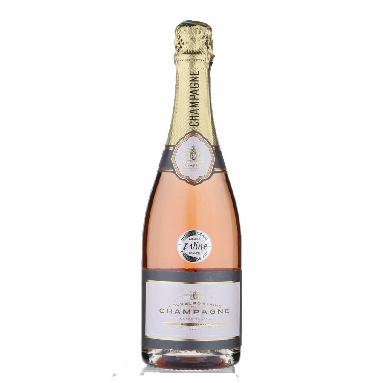 Louvel Fontaine Champagne Rosé Brut