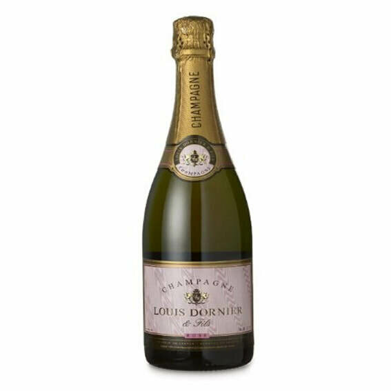 Louis Dornier and Fils Rose Brut Champagne