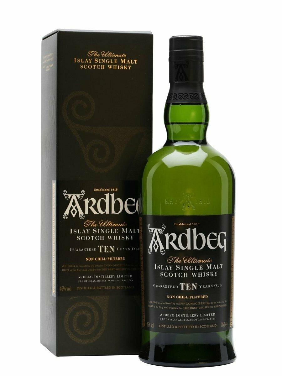 Ardbeg 10 Year Old Malt Whisky