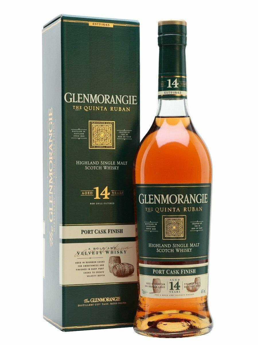 Glenmorangie The Quinta Ruban 14 Year Malt Whisky