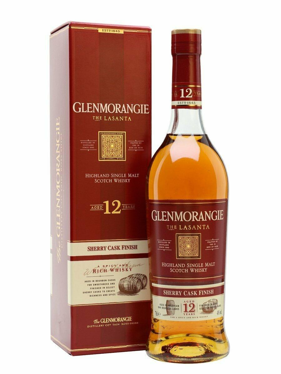 Glenmorangie Lasanta 12 Year Malt Whisky