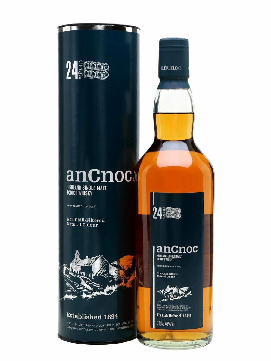 AnCnoc 24 Year Old Malt Whisky