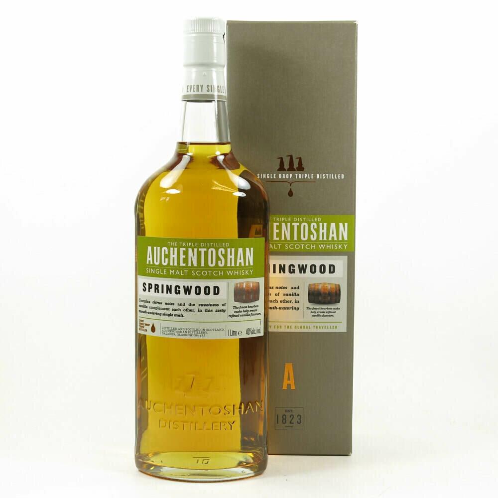 Auchentoshan Springwood 1 litre Malt Whisky