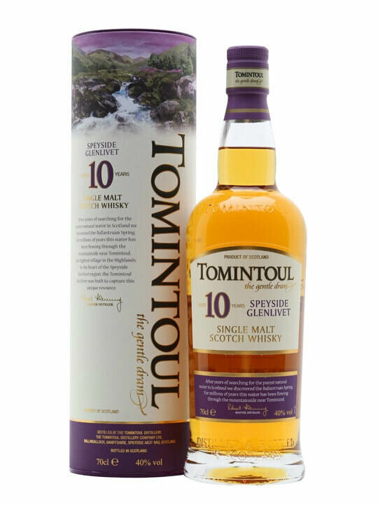 Tomintoul 10 Year Old Malt Whisky
