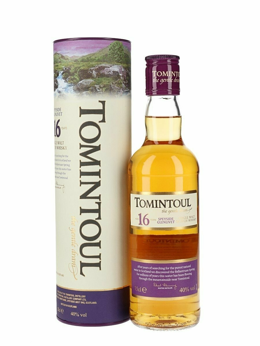 Tomintoul 16 Year Old Malt Whisky