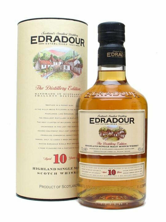 Edradour 10 Year Old Whisky Cask