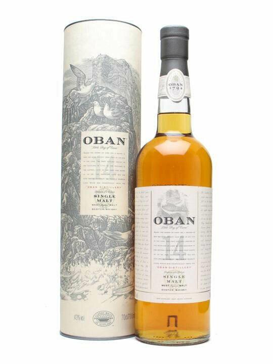Oban 14 Year Old Malt Whisky
