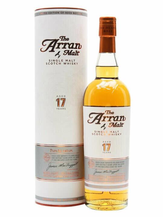 Arran 17 Year Old Malt Whisky