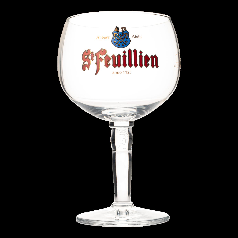 St Feuillien Chalice Glass