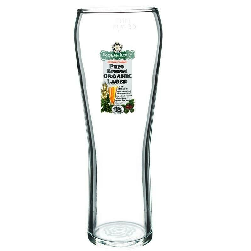 Sam Smith Pure Brewed Lager Glass