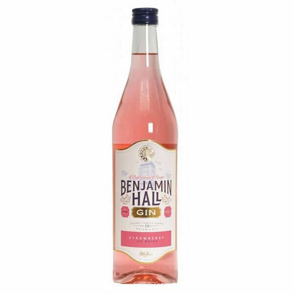 Benjamin Hall Strawberry Pink Gin