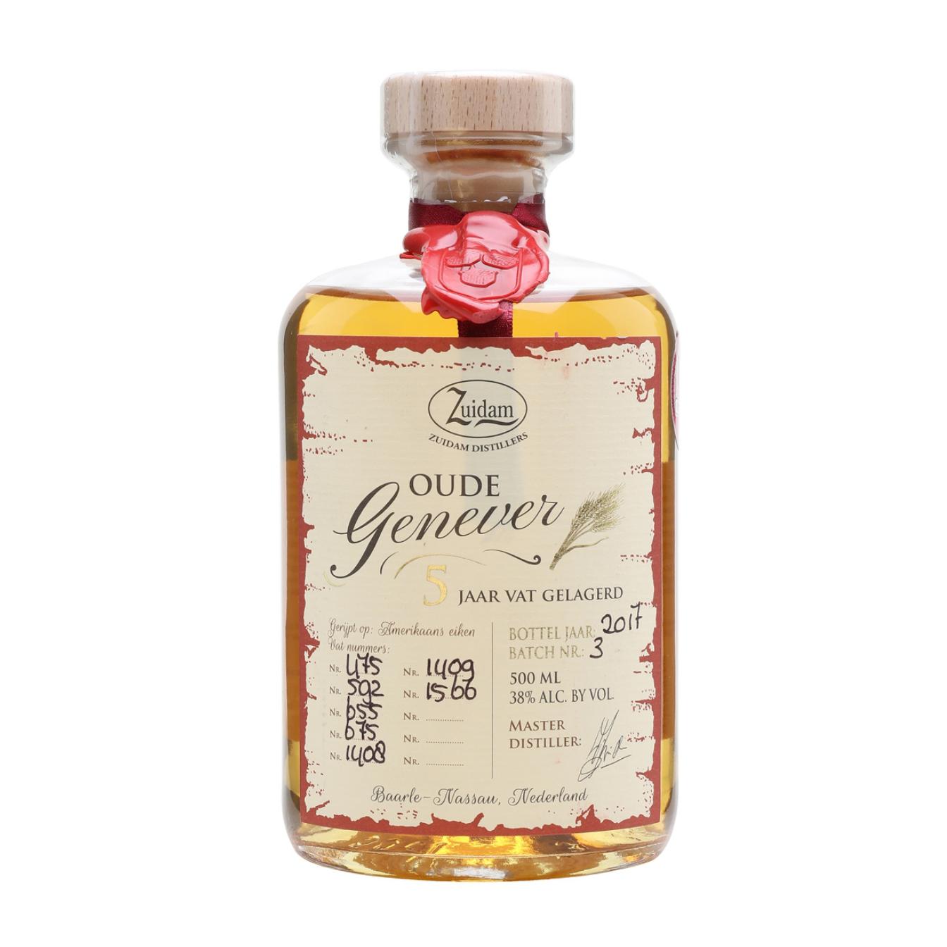 Zuidam 5 Year Old Oude Genever Gin