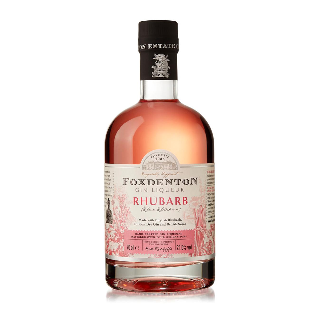Foxdenton Rhubarb Gin Liqueur