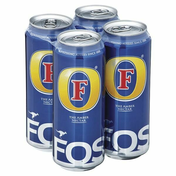 Fosters 4 Packs - 4 for £4.85