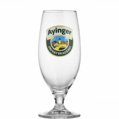 Ayinger Stemmed Pint Glass