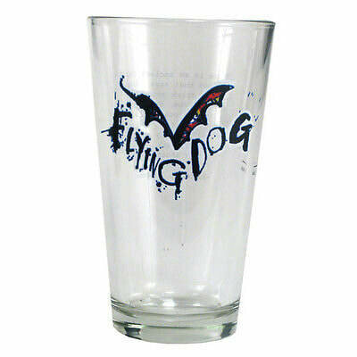 Flying Dog Schooner Glass
