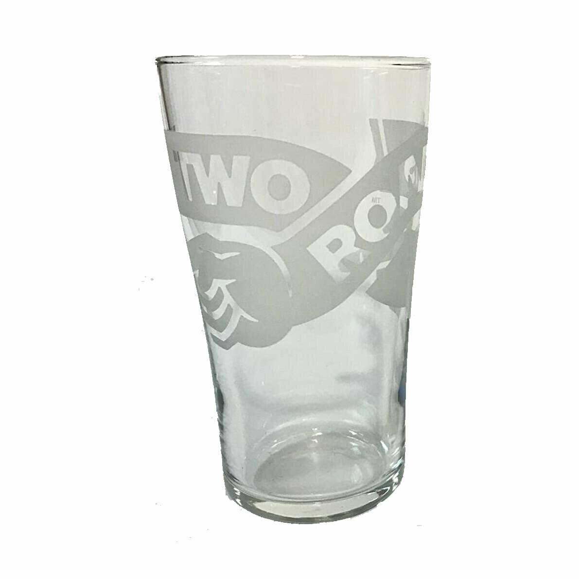 Two Roads Pint Glass