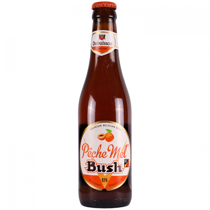 Bush Peche Mel Peach Fruit Beer