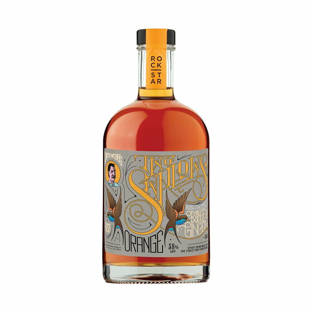 Two Swallows Orange & Ginger Rum