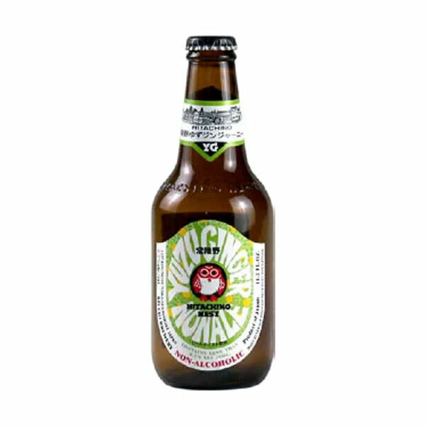 Hitachino Nest Yuzu Ginger Ale Low Alcohol Beer