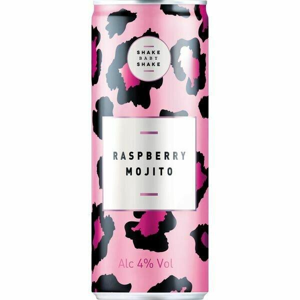 Shake Baby Shake Raspberry Mojito