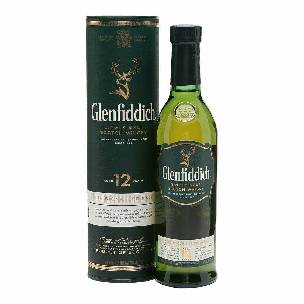 Glenfiddich 12 Year Old 200ml