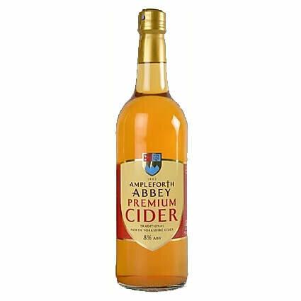 Ampleforth Abbey Premium Cider LARGE 750ml