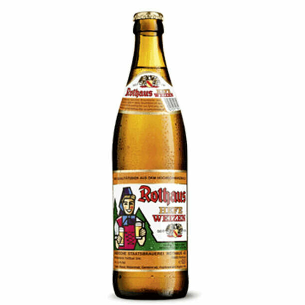 Rothaus Hefeweizen Wheat Beer