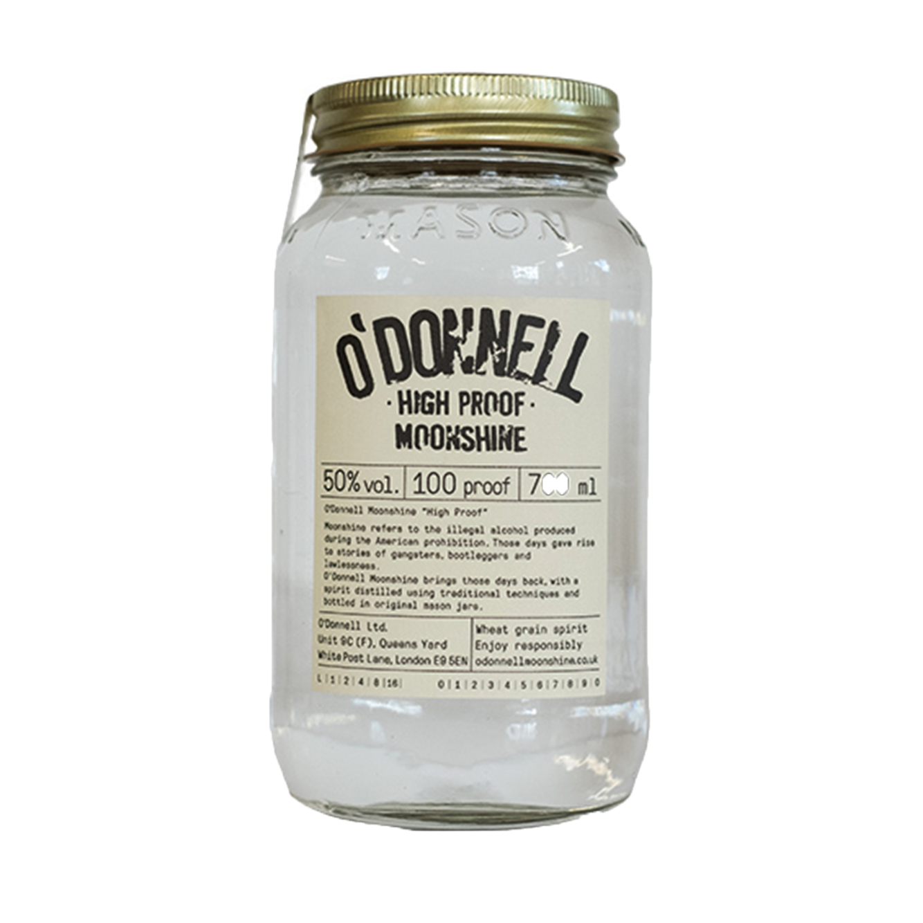 O'Donnell High Proof Moonshine