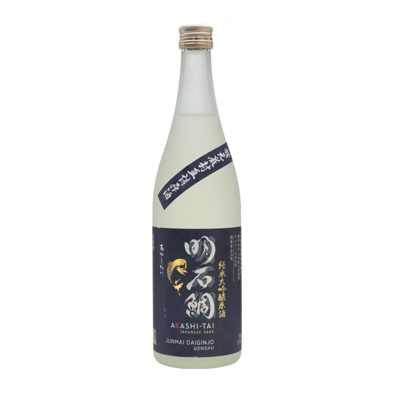 Akashi-Tai Junmai Daiginjo Genshu Sake