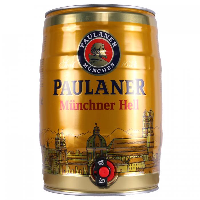 Paulaner Munchner Hell Mini Keg Lager
