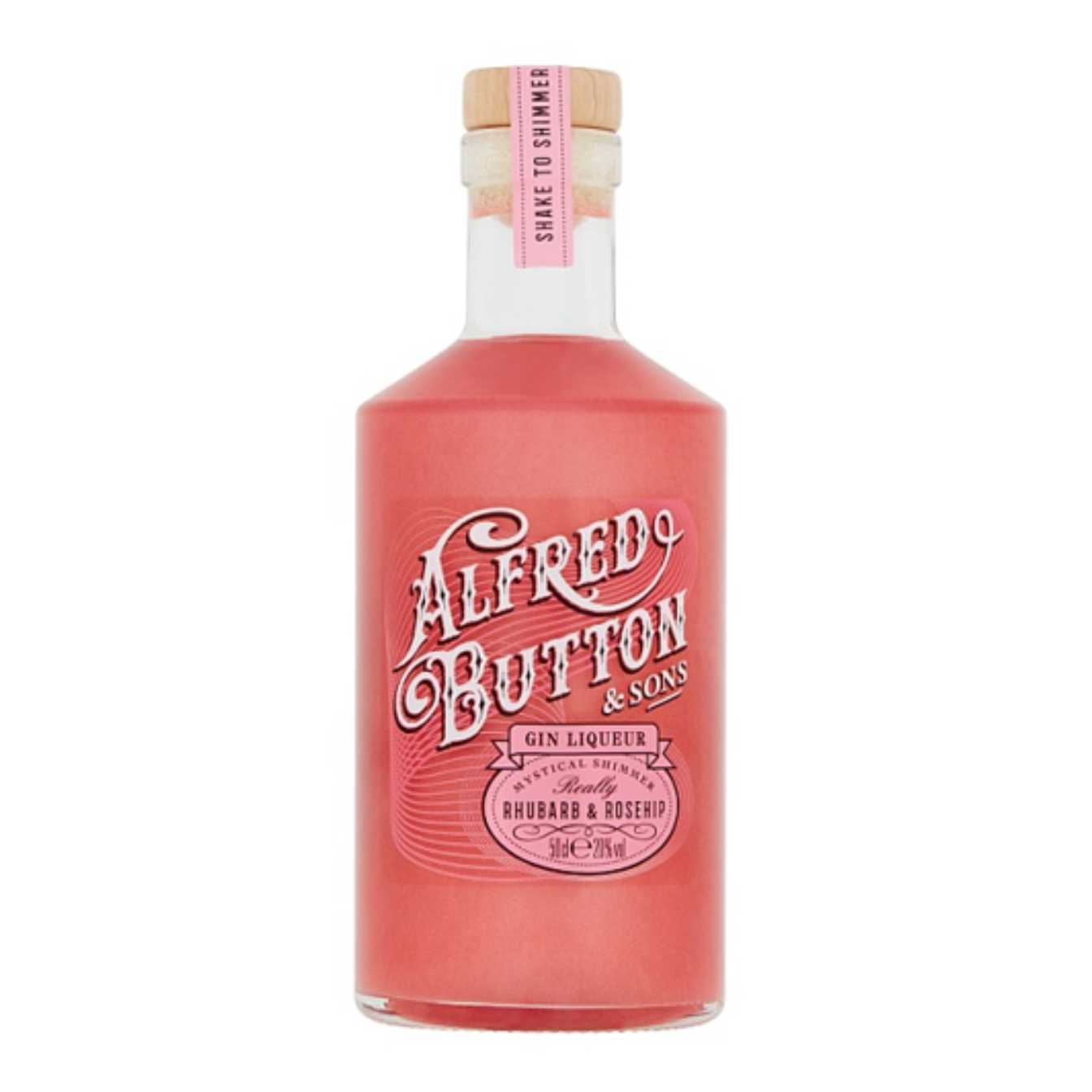 Alfred Button Rhubarb & Rosehip Gin Liqueur