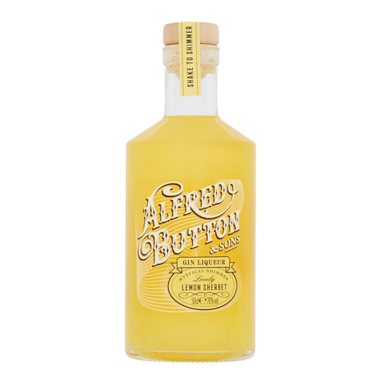 Alfred Button Lemon Sherbet Gin Liqueur