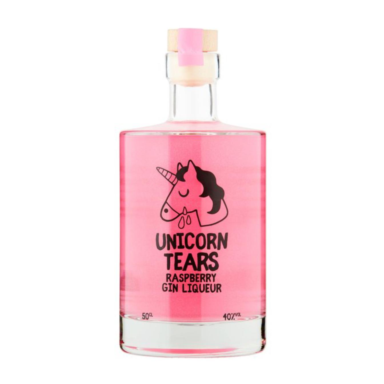 Unicorn Tears Raspberry Gin Liqueur