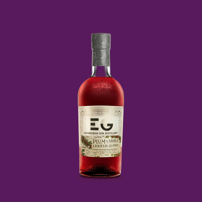 Edinburgh Plum & Vanilla Gin Liqueur