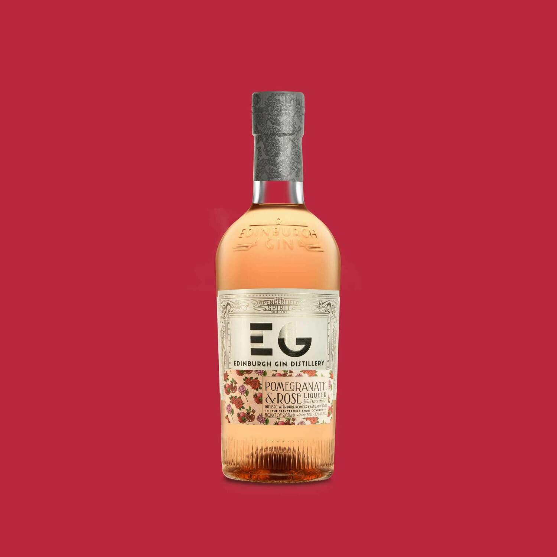 Edinburgh Pomengranate & Rose Gin Liqueur